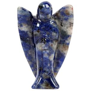 Satyamani Natural Energized Sodalite Angel