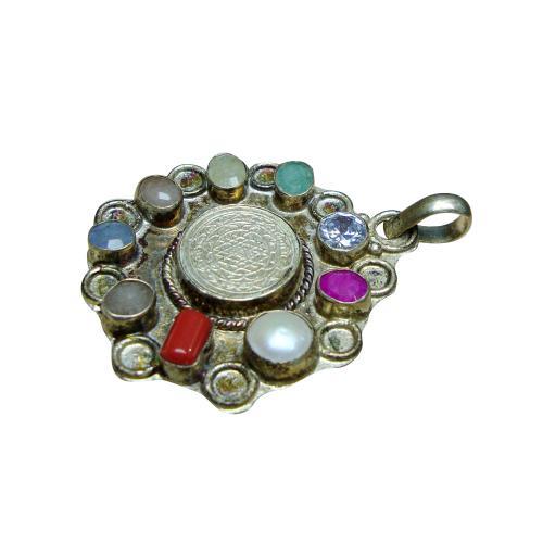 Satyamani Navgrah Pendant Design - (A)