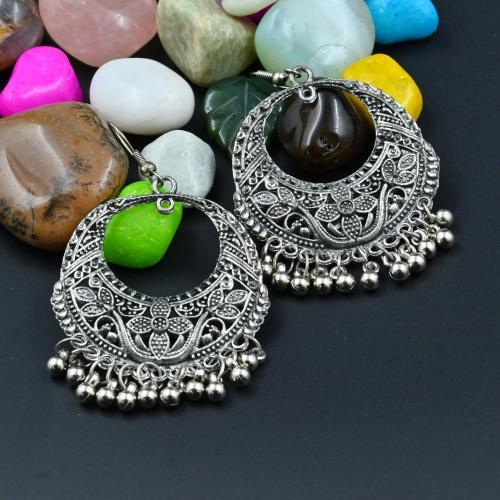 Satyamani Women's Oxidized Hoop Dangler Earring Party Wear