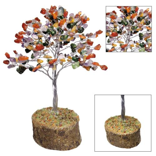 Satyamani Natural Energized Multi Crystal Tree(300 Dana)