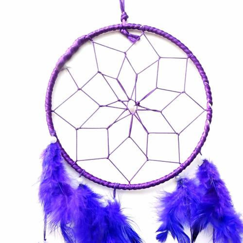 Purple Color Dream Catcher for Home Office Shop