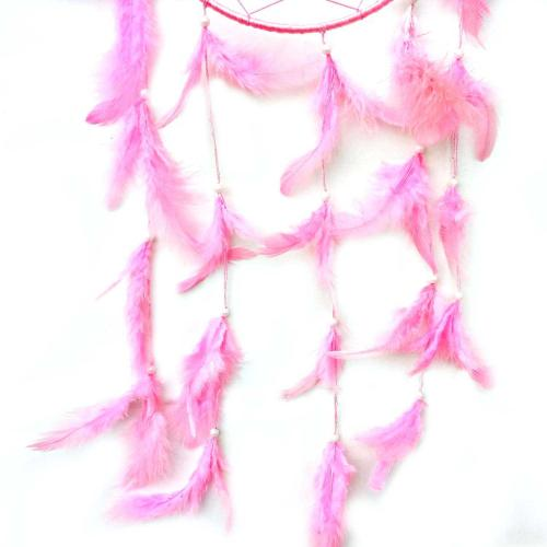 Pink Color Dream Catcher for Elements Energy Balancing in Home Office Shop