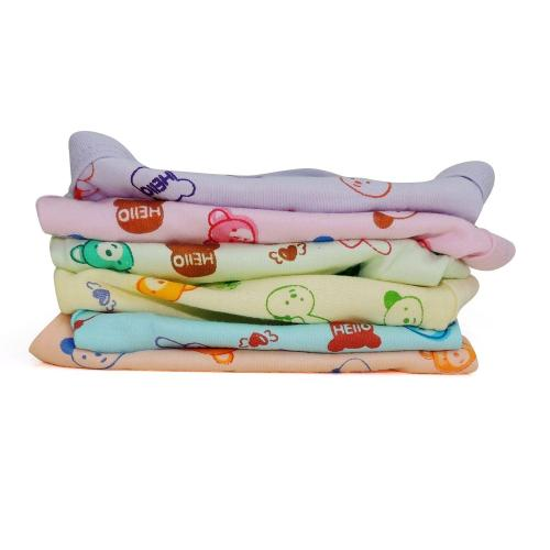 Life Begin with Satyamani Baby Pampered Printed Nappies Size M (Pack of 3) Art