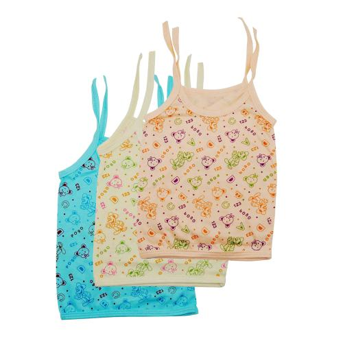Life Begin Baby Half Sleve Dori T Shirt/Jhabla Printed Color Size Medium(3 to 6 months)(Pack of 3)