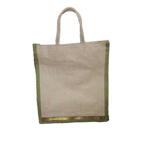 Eco Friendly Naturally Processed Multipurpose Reusable Shoulder Shopping Carry Bag  SMAS3620N5