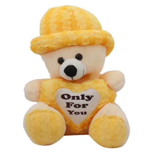 Satyamani Bachpan Teddy Bear with Quote Soft Toy Kids Animal Kingdom Love Fun Play Showpiece
