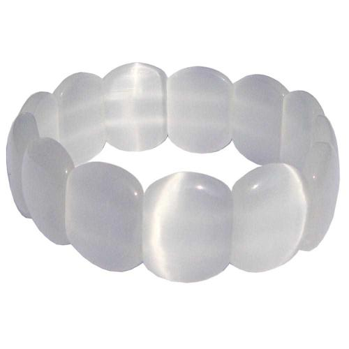 Satyamani Moonstone Cabochon Bracelet (Pack of 1Pc)