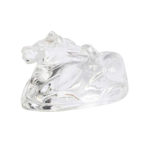 Satyamani Nandi in Clear Quartz For Shiv Pooja