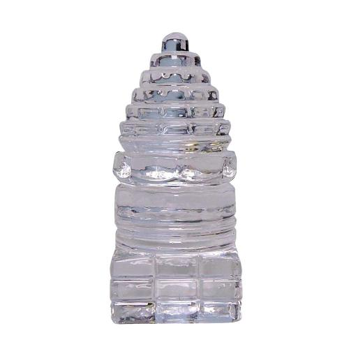 Satyamani Small Shree Yantra In Clear Glass